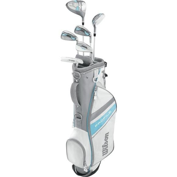 Wilson Girl's Youth Profile Jr. Golf Set (Large) Image