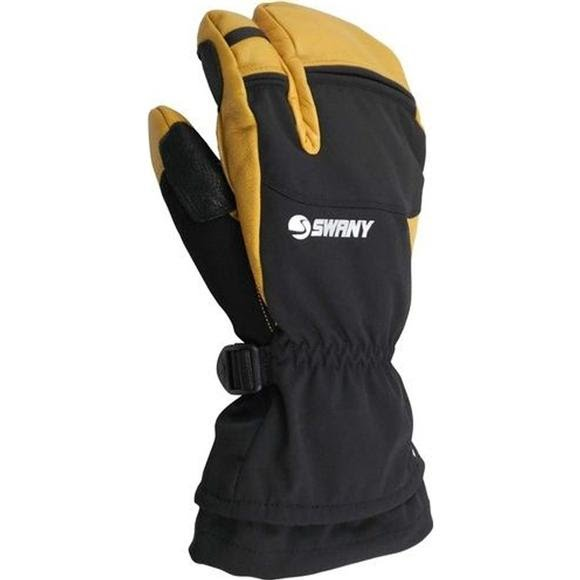 Swany Men's A-Star 3 Finger Mitts Image