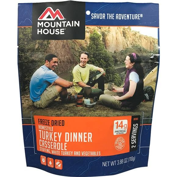 Mountain House Homestyle Turkey Dinner Casserole (Serves 2) Image
