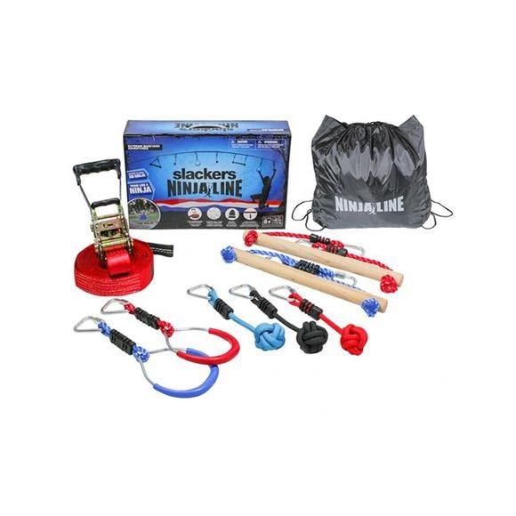 Slackers NinjaLine 36 Foot Intro Slackline Kit Image