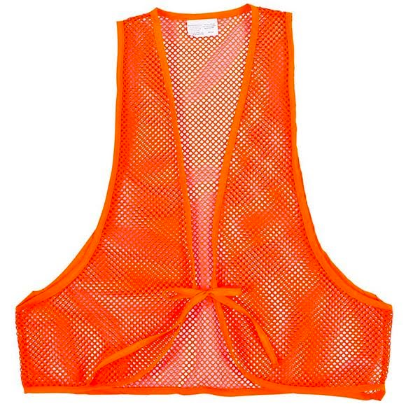 The Allen Co Hunter's Orange Vest Image