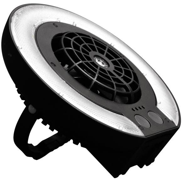 Caravan Disc Fan Light Image