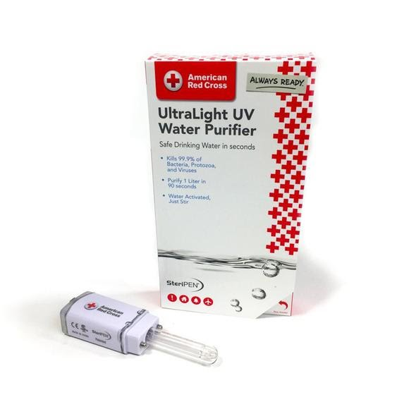 Steripen American Red Cross UltraLight UBV Water Purifier Image