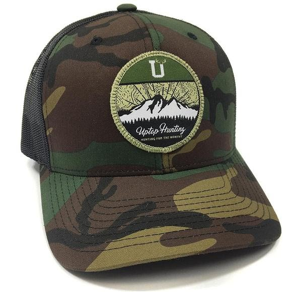 Uptop Hunting 2.0 Retro Trucker Hat Image