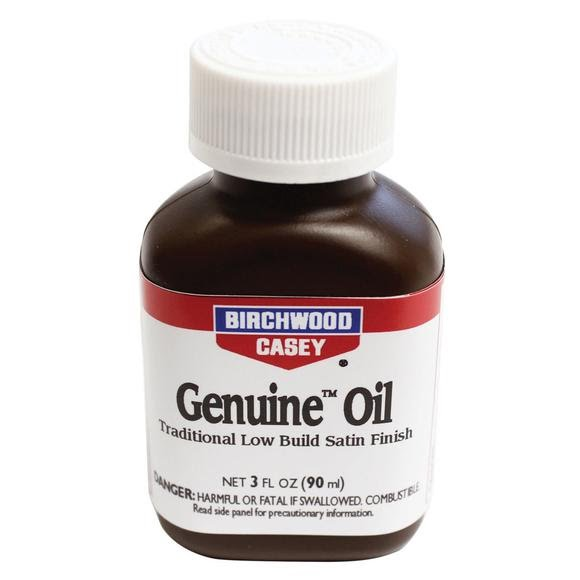 Birchwood Casey Genuine Oil Gun Stock Finish (3oz Bottle) Image