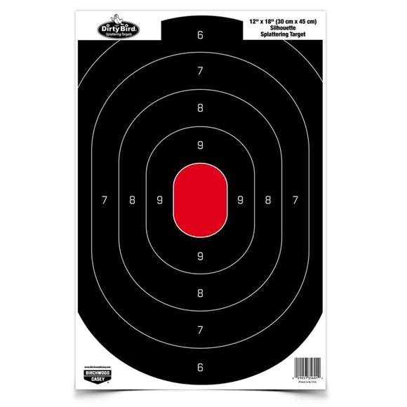 Birchwood Casey Dirty Bird 12x18 Silhouette Targets Image