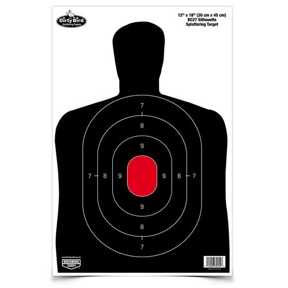 Birchwood Casey Dirty Bird 12x18 BC-27 Silhouette Targets Image