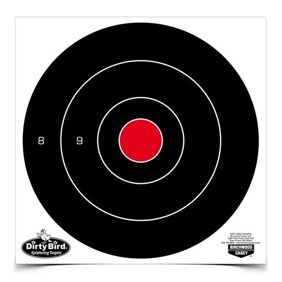 Birchwood Casey Dirty Bird 8 Inch Bull's-Eye Targets Image