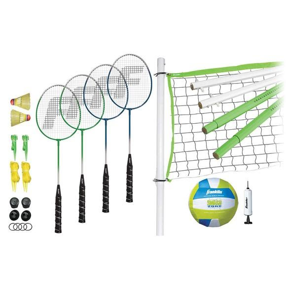 Franklin Intermediate Badminton/Volleyball Set Image