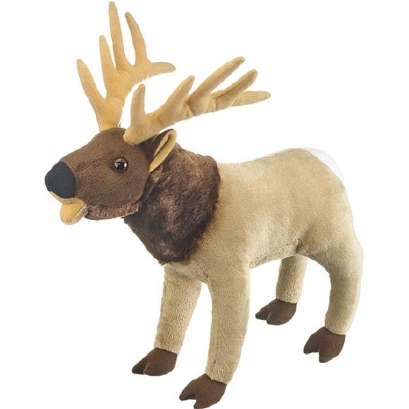 Wildlife Artists Elk Bugling Plush Stuffed Animal Image