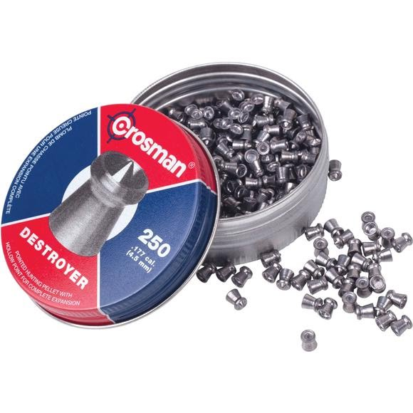 Crosman .177 Destroyer 7.9gr Pellets (250ct) Image