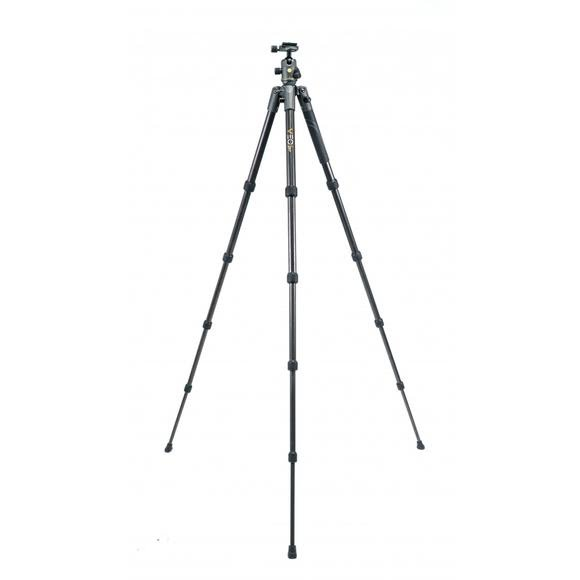 Vanguard VEO 2 235CB Ball Head Travel Tripod Kit and BA-185 Adapter Image