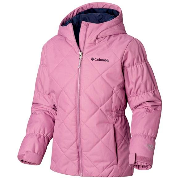 2208c5721c603 Columbia Girl's Youth Casual Slopes Jacket Image