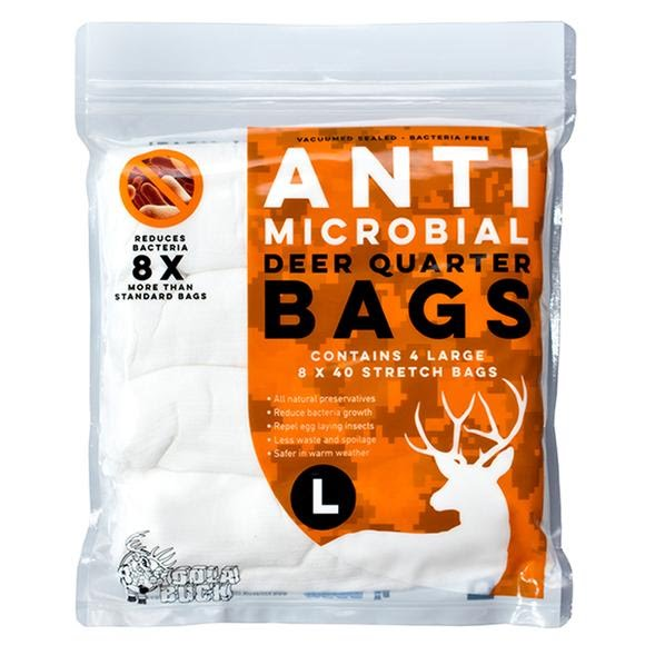 Koola Buck Anti-microbial Deer/Antelope Quarter Bags Image