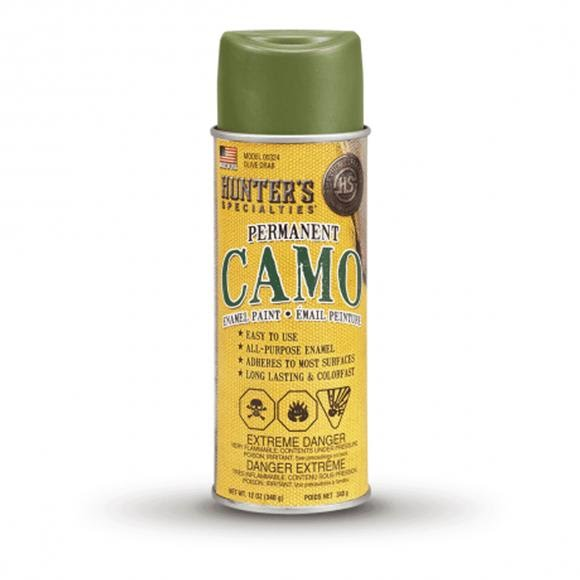 Hunter Specialties Permanent Camo Spray Paint (Olive Drab) Image