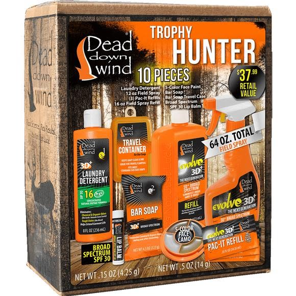 Dead Down Wind Trophy Hunter 10-Piece Kit Image