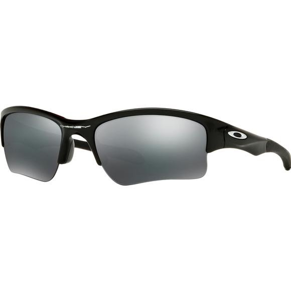 Oakley Youth Quarter Jacket Sunglasses (Polished Black/Black Iridium) Image