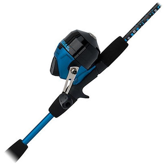 Shakespeare Amphibian 5ft, 6in, 2-Piece Spincast Combo (Blue) Image