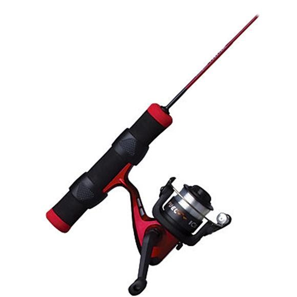 Shakespeare Fuel Ice 27 Inch Ice Spinning Combo (Light Rod Power) Image