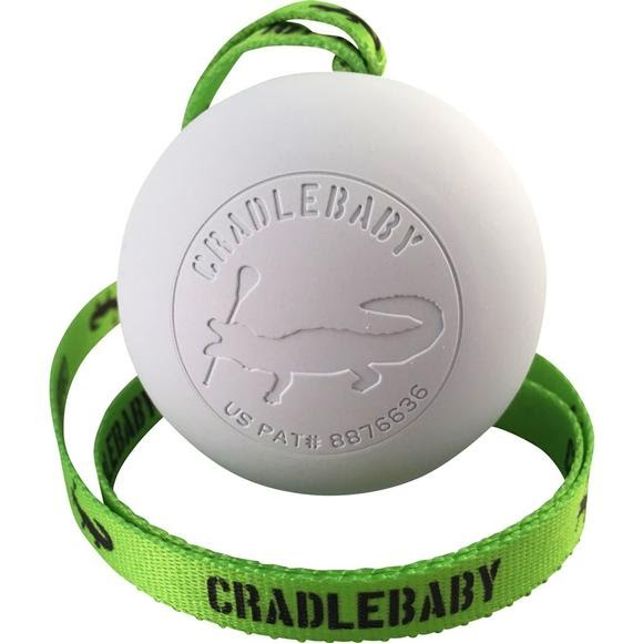 Cradlebaby Lacrosse Ball and Lanyard Image