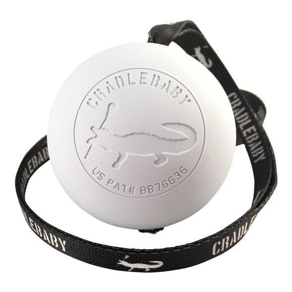 Cradlebaby Lacrosse Goalie Series Ball and Lanyard Image