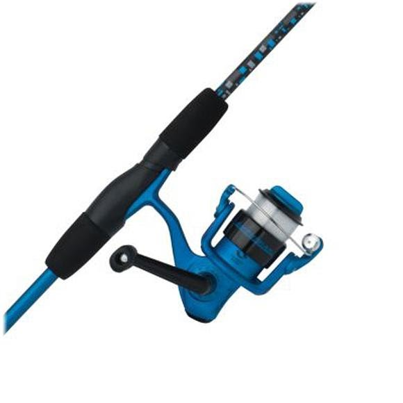 Shakespeare Amphibian 5ft, 6in, 2-Piece Spinning Combo (Blue) Image