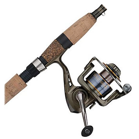 Shakespeare Wild Series Walleye 6ft, 6in, 1-Piece Medium Spinning Combo Image