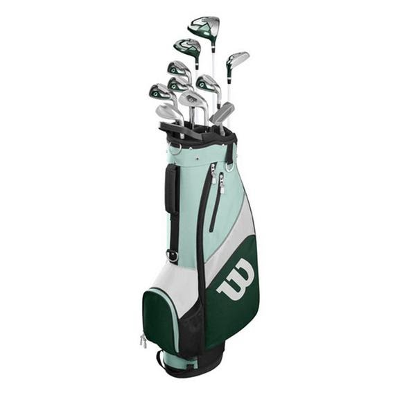 Wilson Women's Profile SFI Complete Golf Club Set with Cart Bag Image