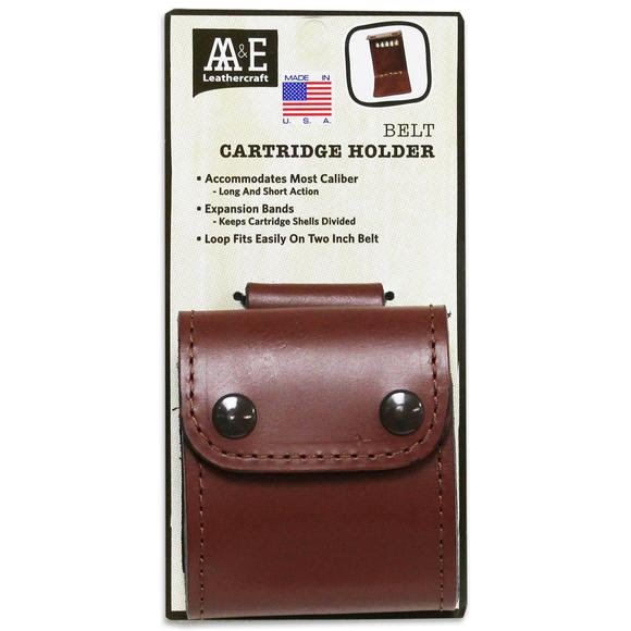 Aa And E Leather Belt Cartridge Holder (10 Round) Image