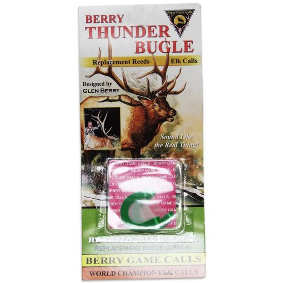 Berry Game Calls RT-Green Medium Bull Replacement Reeds (2-Pack) Image