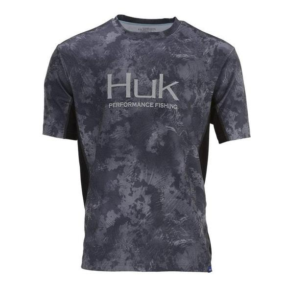 Huk Men's Icon Camo Short Sleeve (Extended Sizes) Image