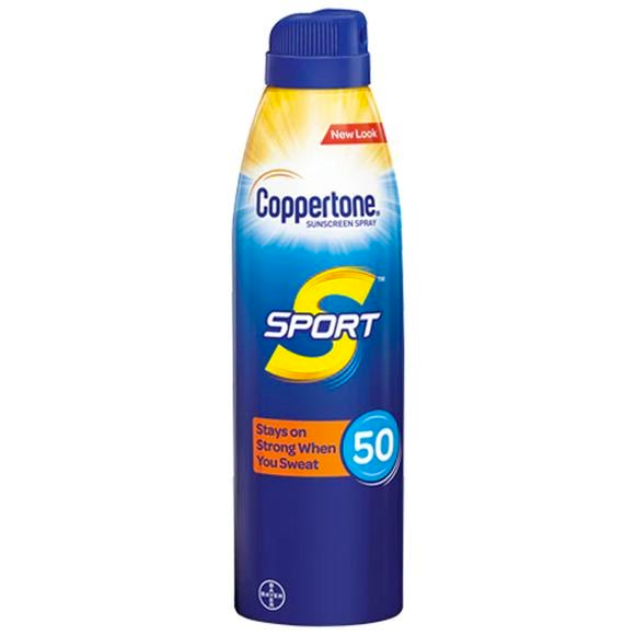 Coppertone Sport SPF 50 Continuous Sunscreen Spray (5.5 oz) Image