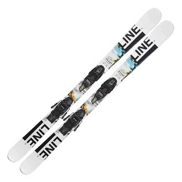 Line Skis Youth Wallisch Shorty / Marker 7.0 FDT Ski and Binding System Image