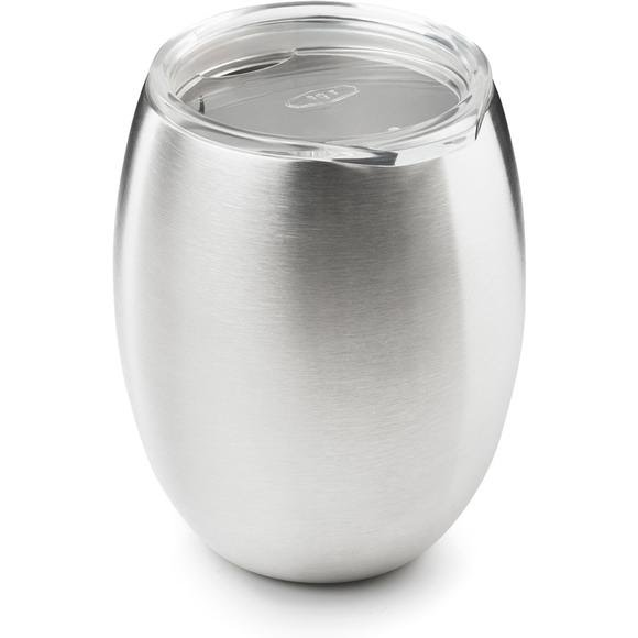 Gsi Outdoors Glacier Stainless Double Wall Wine Glass Image