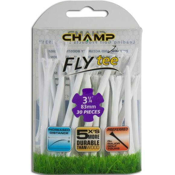 Charter Products Champ Fly Tees, 3 1/4 Inch (30 Pack) Image