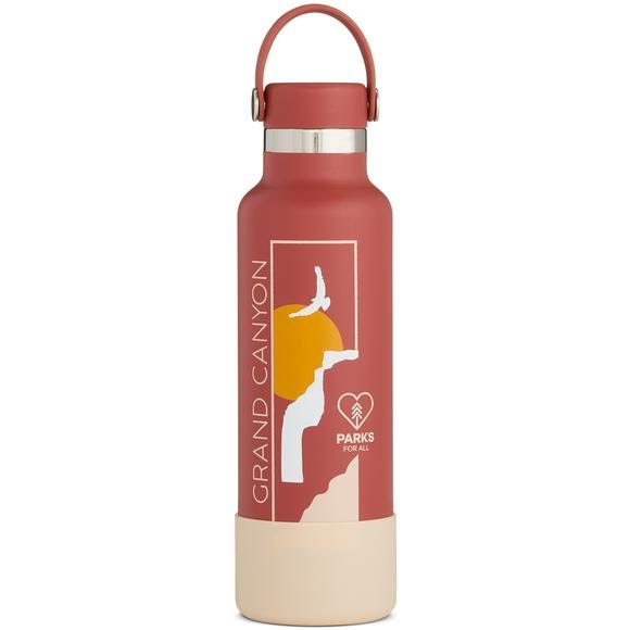 5255a87664 Hydro Flask National Park Foundation Limited Edition 21 oz Standard Mouth  Water Bottle Image