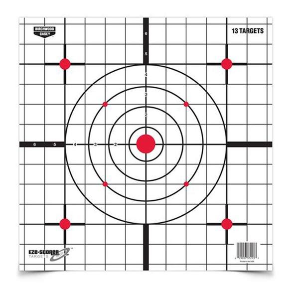 Birchwood Casey Eze-Scorer 12 Inch Sight-In Paper Targets (13-Pack) Image