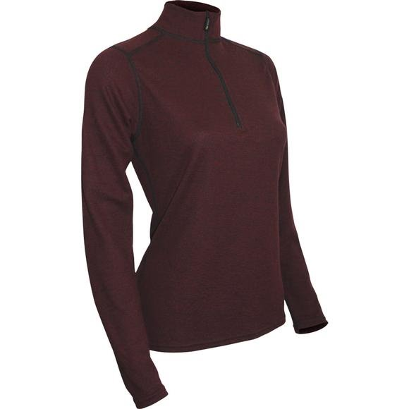 Polarmax Women's Montana Wool 2.0 Zip Mock Top Image