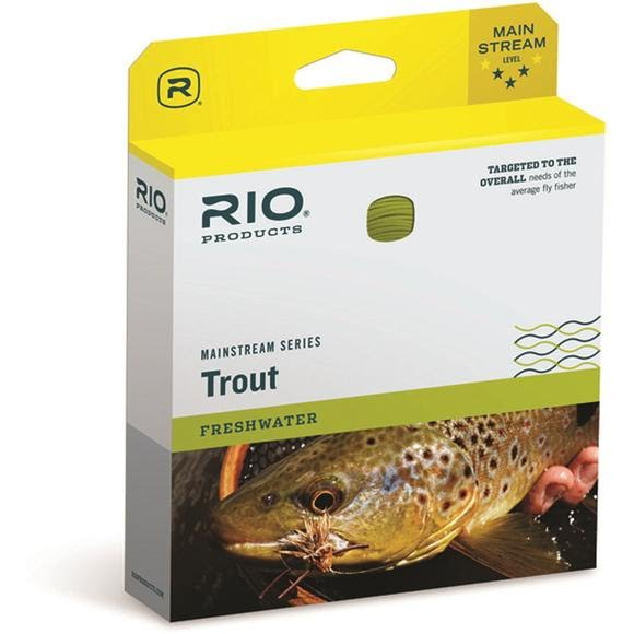 Rio Mainstream Trout DT5F Fly Line (Lemon Green) Image