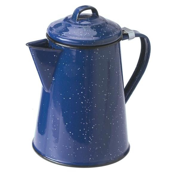 Gsi Outdoors 3 Cup Enamelware Coffee Pot Image