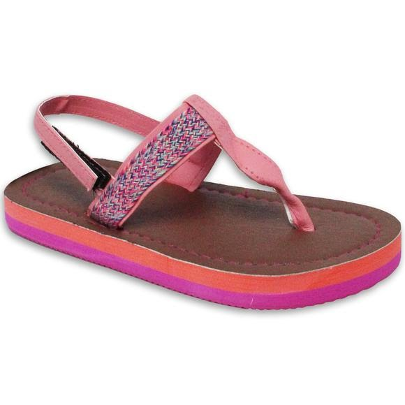 Sun Ray Girls Toddler Amelia Sandals Image