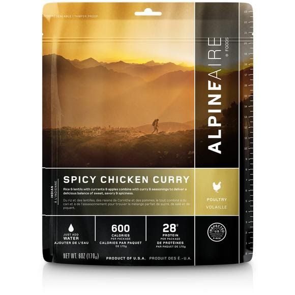 Alpine Aire Foods Spicy Chicken Curry Image