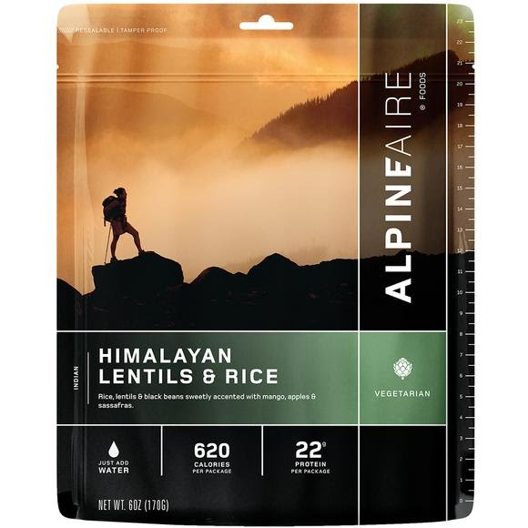 Alpine Aire Foods Himalayan Lentils and Rice Image