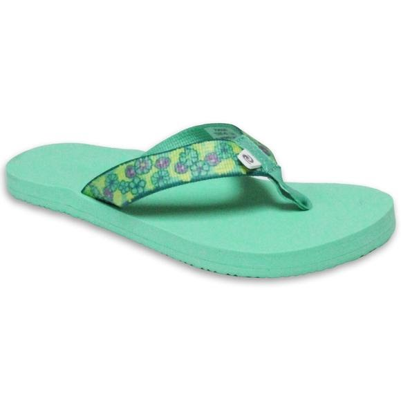 Rafters Girls Preschool Pacific Begonia Flip Sandals Image