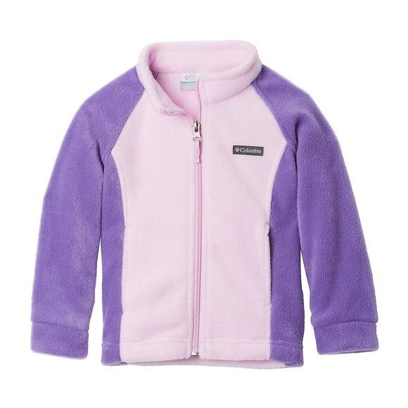 Columbia Girls Toddler Benton Springs Fleece Jacket Image