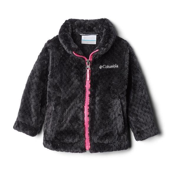 Columbia Youth Girls Fire Side Sherpa Full Zip Jacket Image