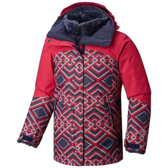 Columbia Girl's Youth Bugaboo II Fleece Interchange Jacket Image