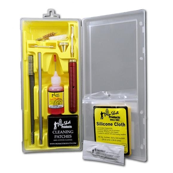 Pro-shot Classic Box Cleaning Kit .38-.357 Cal./9mm Pistol Image
