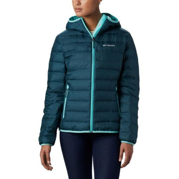 Columbia Women's Lake 22 Down Hooded Jacket Image