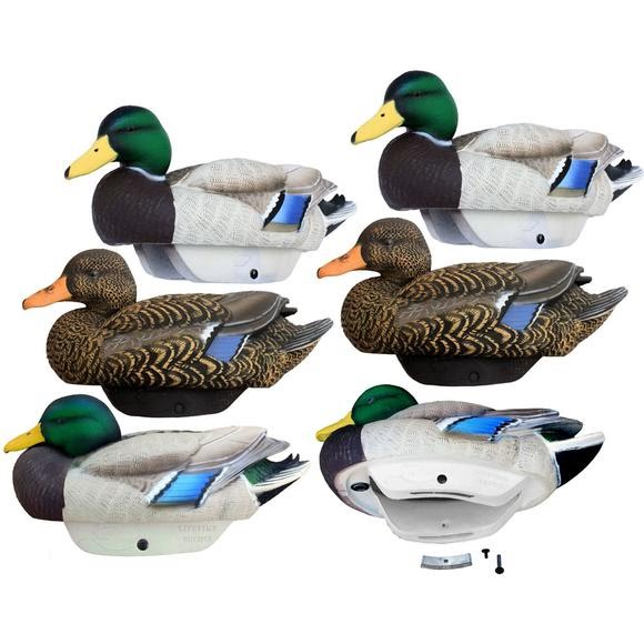 Lifetime Decoys FlexFloat Mallard Decoys 6 Pack Image